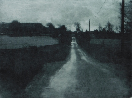 Towards Charterhouse, Photogravure