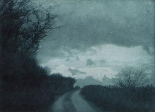 Towards Tynings, Photogravure