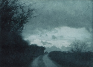 Towards Tynings, Photogravure