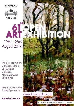 Clevedon Art Club Open 2017