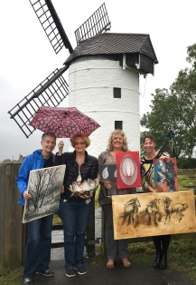 SAW Cluster Group Ashton Windmill with umbrella-2