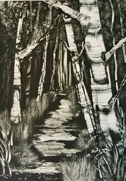 A Walk in the Woods II, Monotype