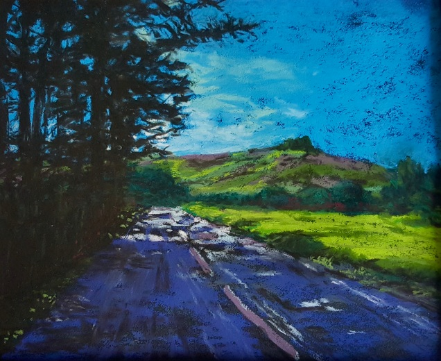 Towards Hay Tor Pastels 24cm x 30cm